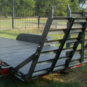 Custom build your car hauler with stand up ramps in Sulpher Springs, Texas