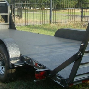Custom build your car hauler with steel flooring in Sulpher Springs, Texas