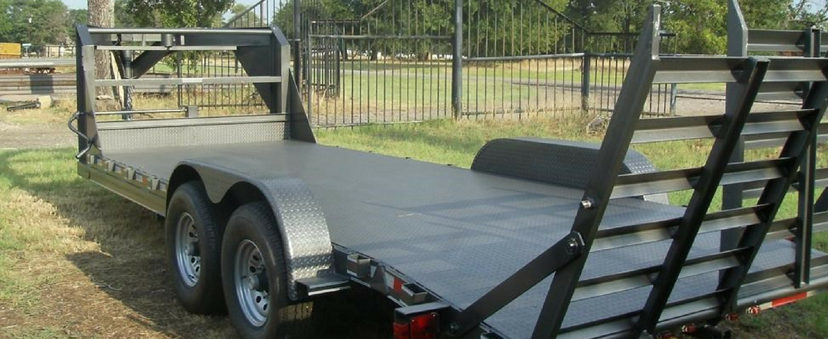 Custom Built Car Haulers by Custom Built Gooseneck Trailers in Sulpher Springs, Texas