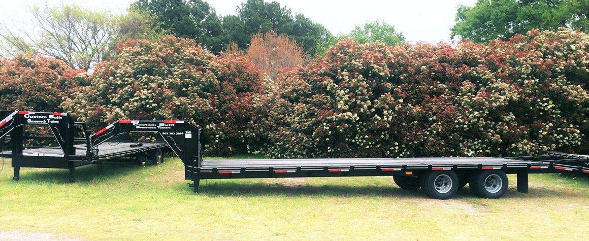 Custom Built Gooseneck Trailers in Sulphur Springs, Texas