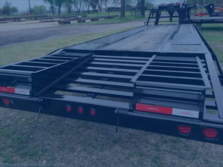 Custom Built Gooseneck Trailer - Custom Equipment Trailer
