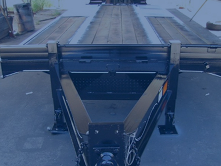 Custom Built Gooseneck Trailer - Custom Hot Shot Trailer