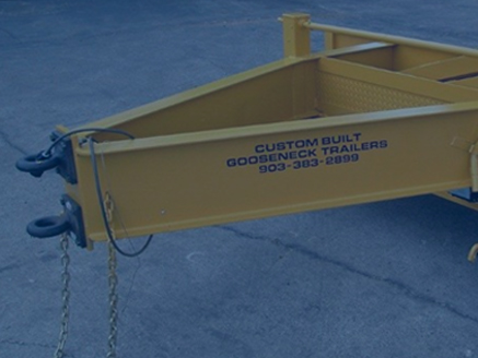Custom Built Gooseneck Trailer - Custom Pintle Hitch Trailer