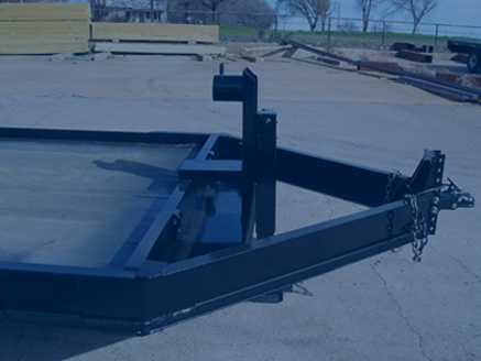 Custom Built Gooseneck Trailer - Custom Tilt Deck Trailer