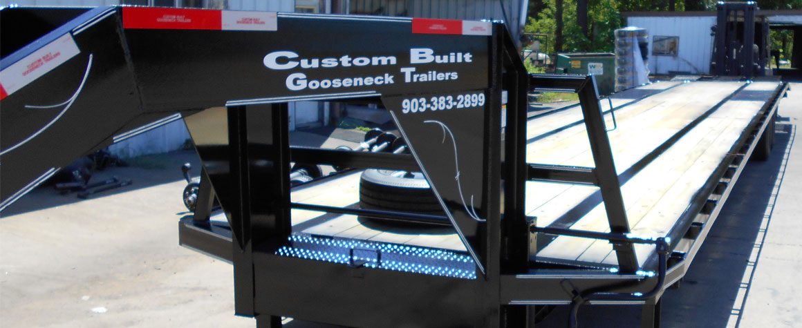Equipment Trailer built by Custom Built Gooseneck Trailers