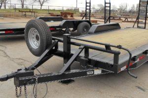 18 Foot Bumper Pull Trailer built by Custom Built Gooseneck Trailers