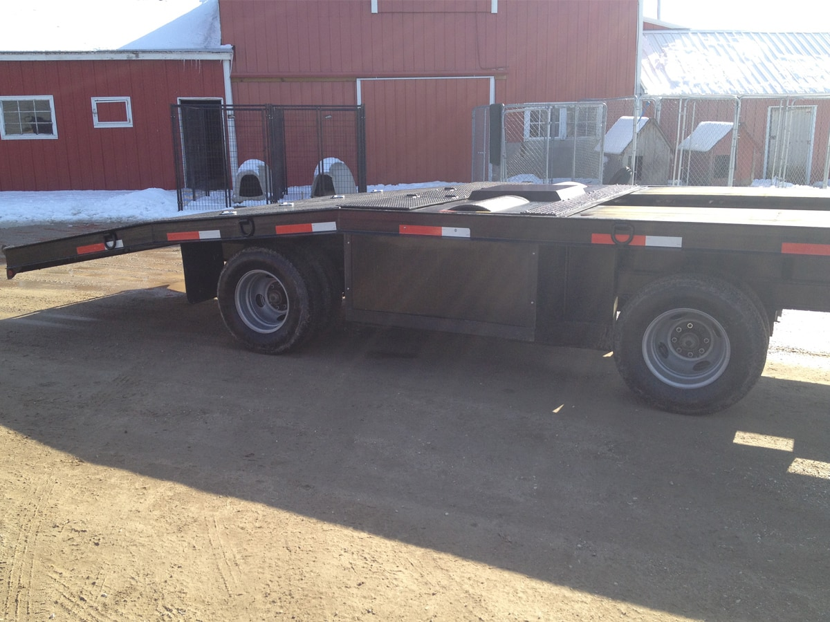 Dyno Trailer built by Custom Built Gooseneck Trailers