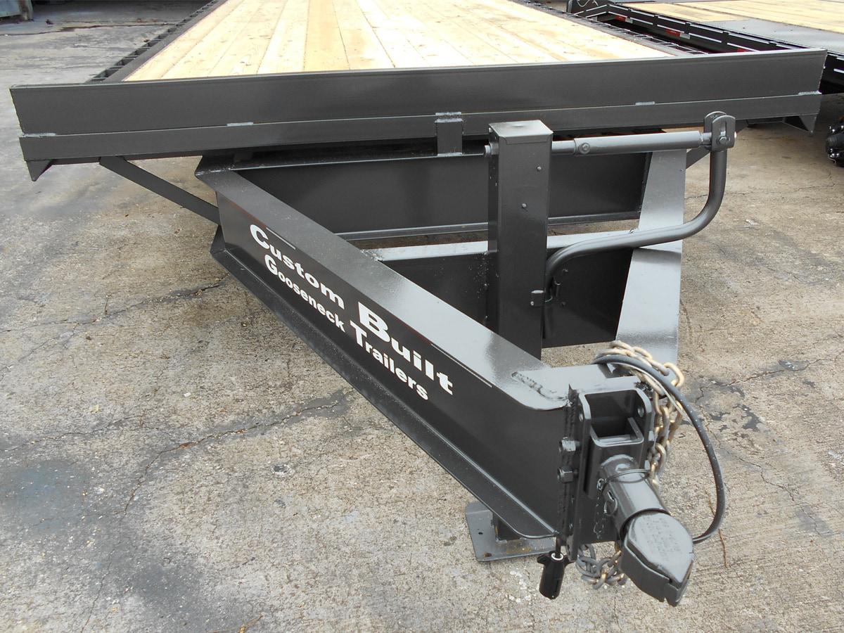 HD Bumper Pull Trailer built by Custom Built Gooseneck Trailers