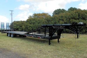 Custom Hot Shot Trailer built by Custom Built Gooseneck Trailers