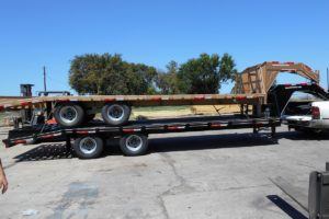 Stacked 10K Gooseneck Trailers built by Custom Built Gooseneck Trailers
