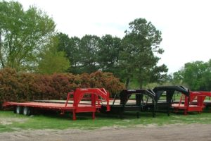 Stock trailers built by Custom Built Gooseneck Trailers